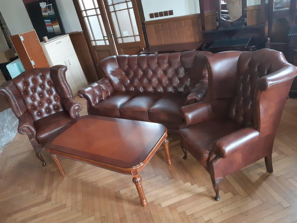 Chesterfield souprava Robert +2